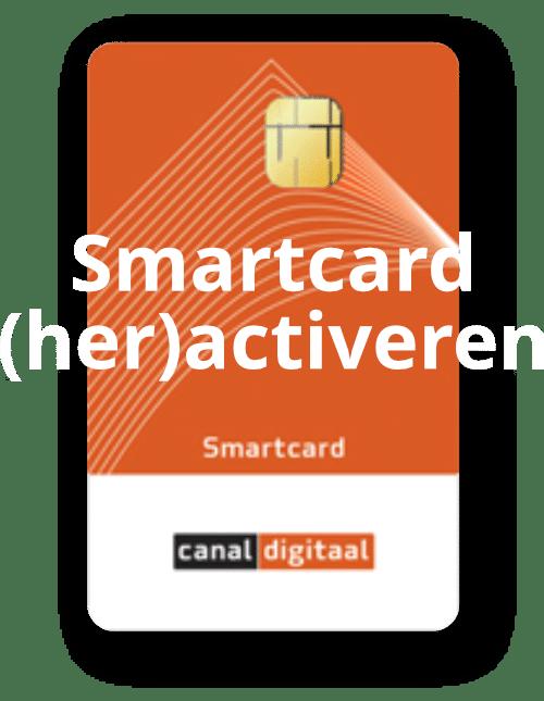 Smartcard (her)activeren